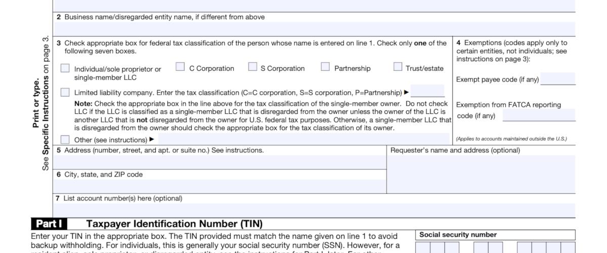 Le formulaire W-9 pour les entrepreneurs indépendants aux États Unis